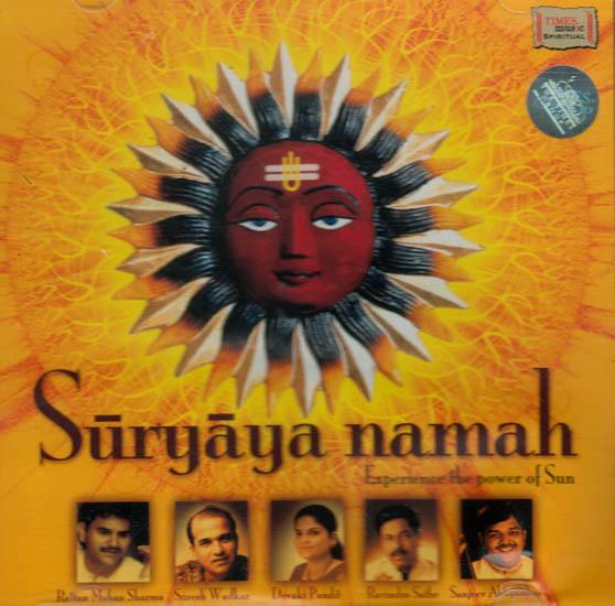 Suryaya Namah – Experience the Power of Sun (Two Audio CDs)