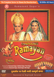 The Ramayana: The Full T.V. Serial with English Subtitles (152 Episodes) (Set of 20 DVDs)