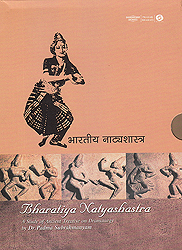 Bharatiya Natyashastra  (With Book Inside) - A Study of the Ancient Treatise on Dramaturgy (Set of 5DVDs)