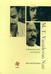 M. T. Vasudevan Nair - A Momentous Life in Creativity: Great Masters Series (DVD, With Color Booklet Inside)