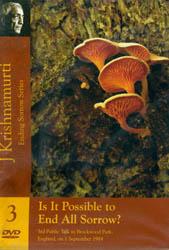 J. Krishnamurti: Is It Possible to End All Sorrow? (Ending Sorrow Series) (DVD)