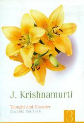 J. Krishnamurti: Thought and Disorder (DVD)