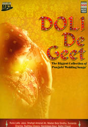 Doli De Geet (The Biggest Collection of Punjabi Wedding Songs') (Audio MP3 CD)