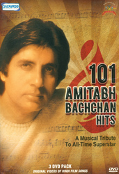 The Big B Unleashed (Bonanza of Amitabh Bachchan's Scenes & Songs): Original Videos of Hindi Film Songs (Set of 3 DVDs)