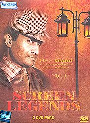 "Screen Legends ""Dev Anand"" :The Evergreen Legend of Indian Cinema (Vol 1): Original Videos of Hindi Film Songs (Set of 2 DVDs)"