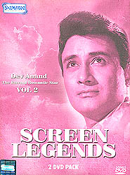 "Screen Legends ""Dev Anand"" :The Eternal Romantic Star (Vol 2): Original Videos of Hindi Film Songs (Set of 2 DVDs)"