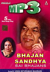 Bhajan Sandhya: Sai Bhajans (Mp3 CD)