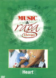 Music and Raga Therapy for Heart  (DVD with 1 Audio CD)