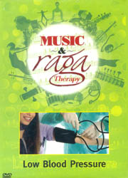 Music and Raga Therapy for Low Blood Pressure (DVD)