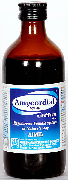 Amycordial Syrup Regularises Female System in Nature's way (AIMIL)