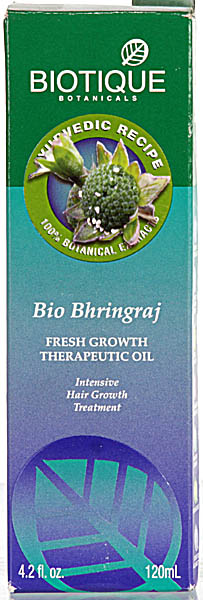 Bio Bhringraj Fresh Growth Therapeutic Oil Intensive Hair Growth Treatment  (Biotique Botanicals 100% Botanical Extracts)