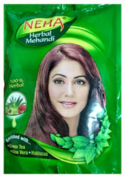 Neha Herbal Mehandi (Natural Coloring with Nature's Goodness)