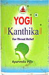 Yogi Kanthika – For Throat Relief (140 Pills)