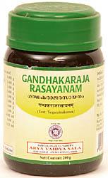 Gandhakaraja Rasayanam (Text: Yogaratnakaram)