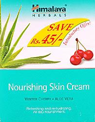 Nourishing Skin Cream: Winter Cheery & Aloe Vera