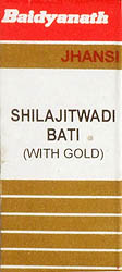 Shilajitwadi Bati (With Gold)
