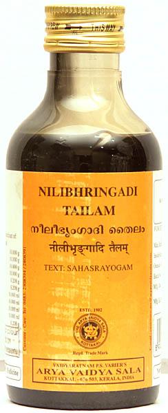 Nilibhringadi Tailam (Text: Sahasrayogam)