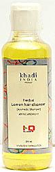 Herbal Lemon Hair Cleanser (Ayurvedic Shampoo)