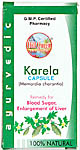 Karela Capsule Memordia Charantia (Remedy for Blood Sugar, Enlargement of Liver)