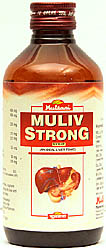 Muliv Strong Syrup (An Ideal Liver Tonic)