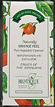 Naturally Orange Peel - Pure Vegetable Cleanser (Skin Energiser and Exfoliator)