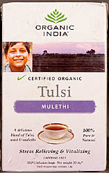 Tulsi-Mulethi Tea – Stress Relieving & Vitalizing