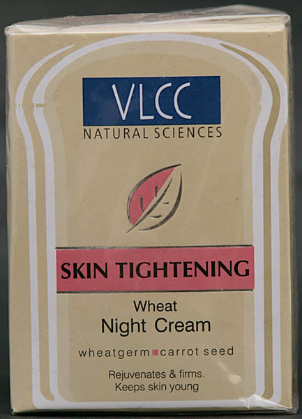 Wheat Night Cream - Skin Tightening (With Wheatgerm & Carrot Seed)