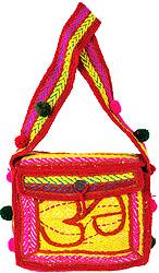 Om Shoulder Bag from Haridwar