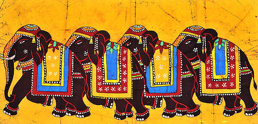 Procession of Elephants
