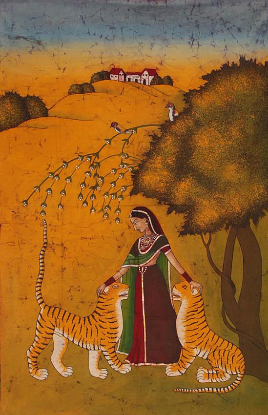 Ragini Sehuti with Tigers