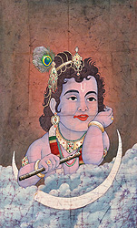 Krishna as a Cosmic Child