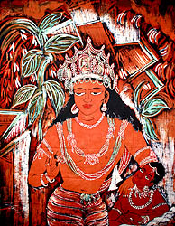 Avalokiteshvara of the Ajanta Caves