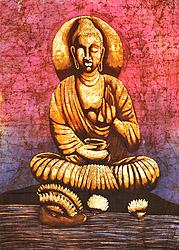Buddha in the Abhaya Mudra