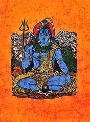 Shiva at Kailasha
