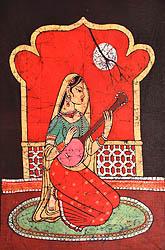 Maiden Playing Iktara