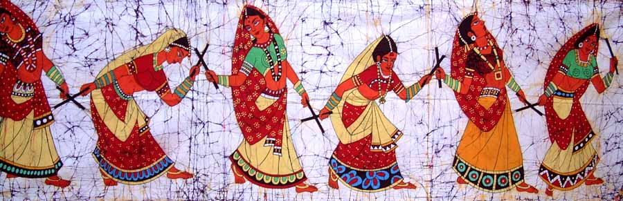 Folk Art Paintings Of Gujarat