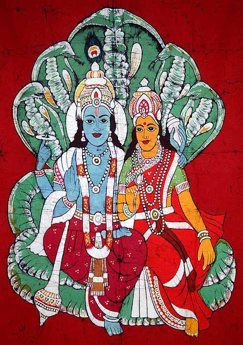 Lakshmi Wife of Vishnu Vishnu Lakshmi