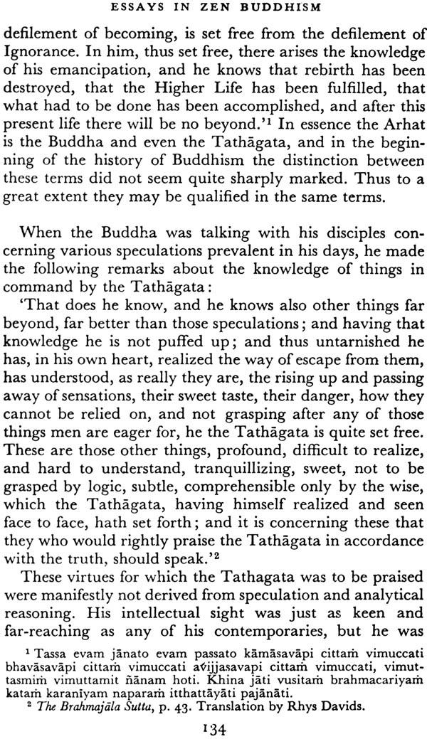 Essays in Zen Buddhism, First Series