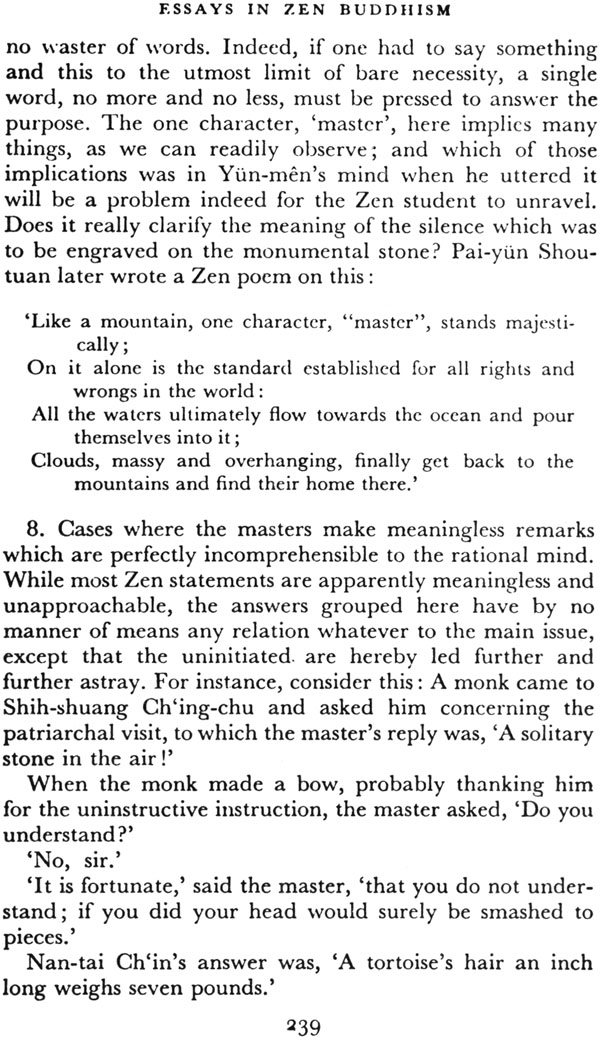 essays buddhism suzuki Essays in zen buddhism, book free type: ebook (pdf, epub) publisher: luzac and company released: october, 2013 page count: 423 language: english link.