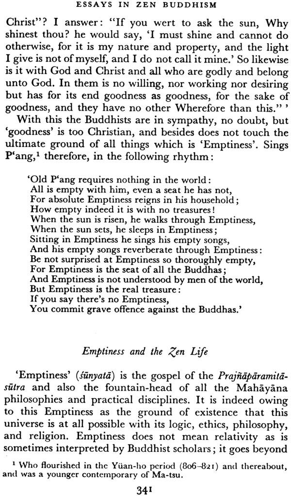 Essays on zen buddhism suzuki