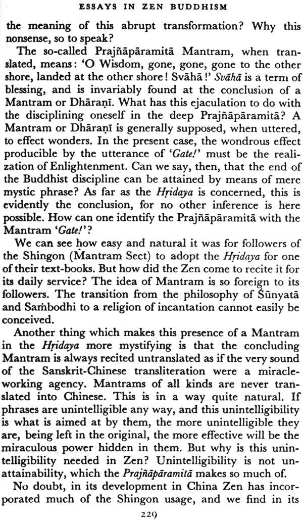 Essays in Zen Buddhism, Third Series