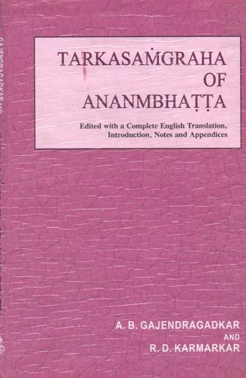Tarkasamgraha of Ananmbhatta