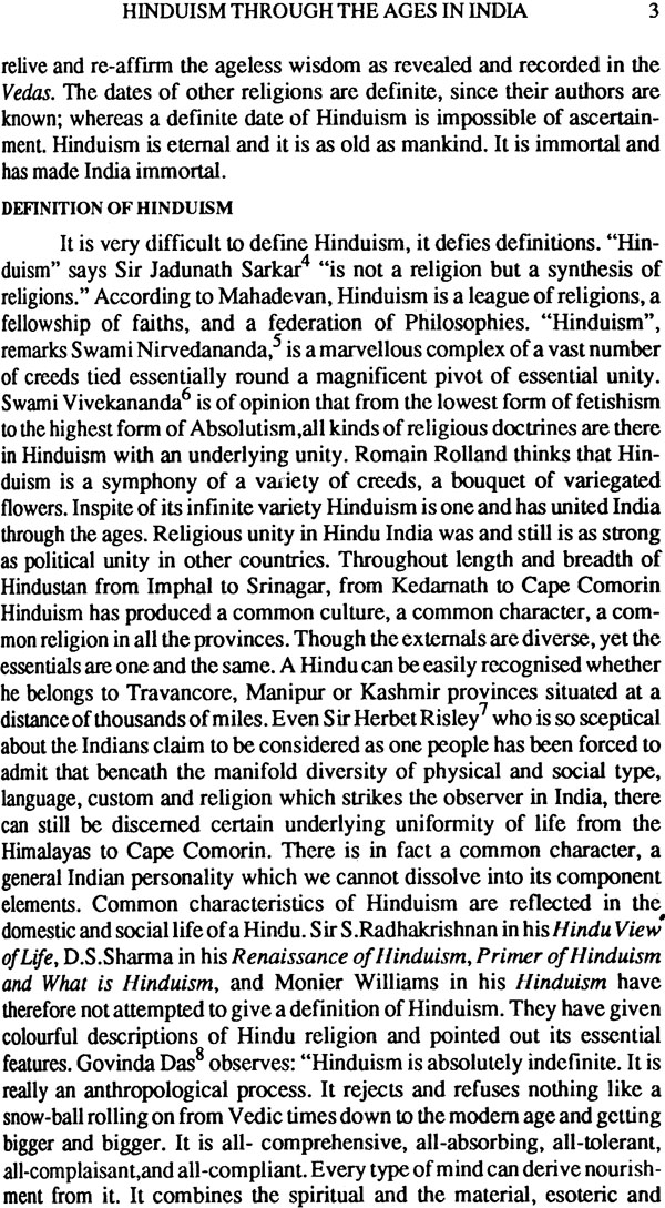 Hinduism research paper