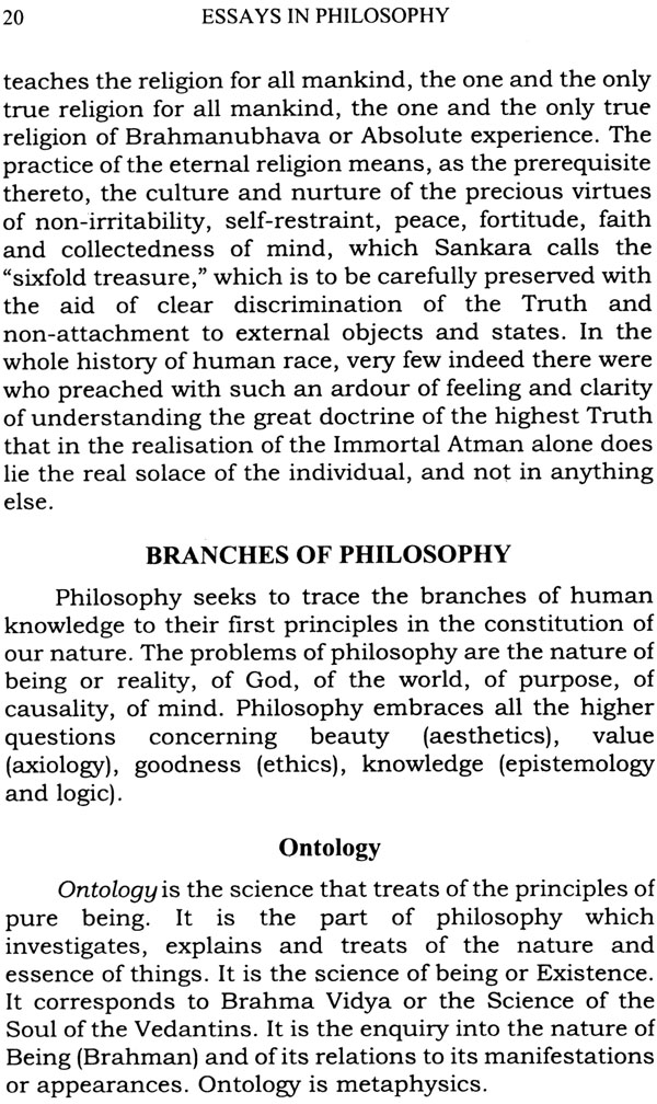 essay in philosophy Read philosophy of education free essay and over 88,000 other research documents philosophy of education progressivism my personal philosophy of education is most.