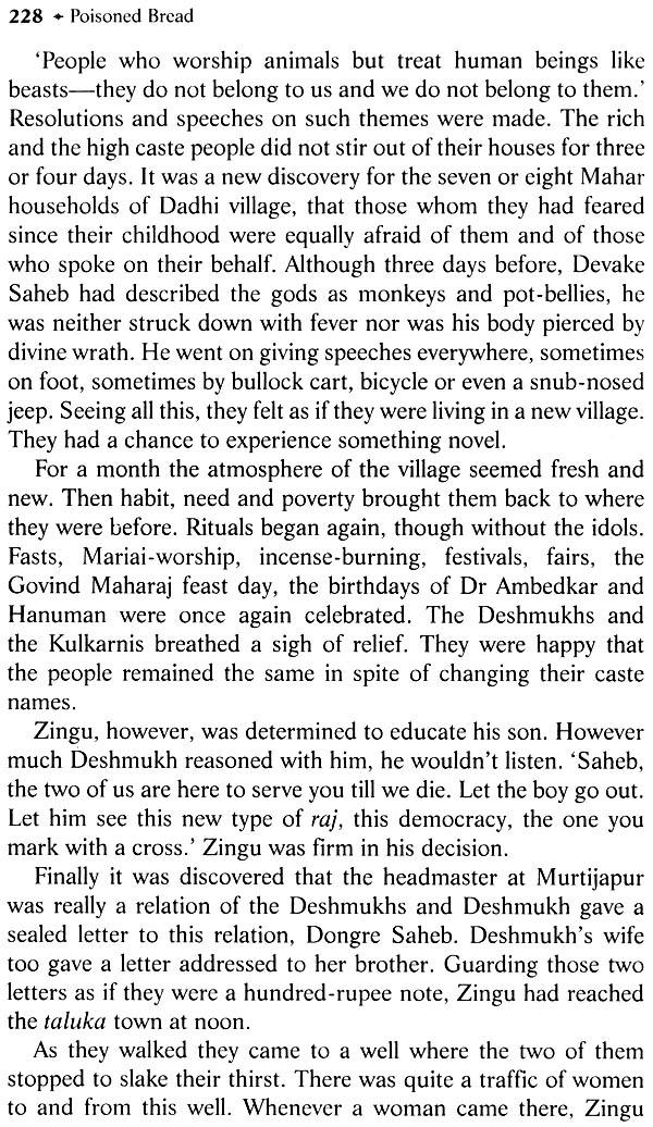 poisoned bread by arjun dangle Select bibliography dangle, arjun, editor poisoned bread: introduction by arjun dangle, orient blackswan, 2009 dirks, nicholas.