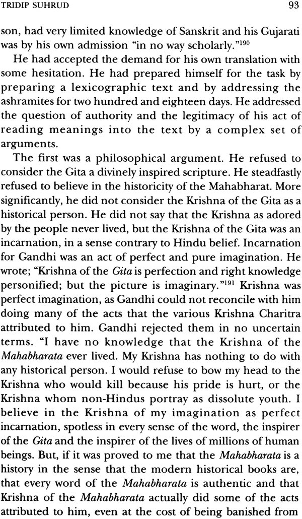 reading gandhi in two tongues and other essays  sample pages