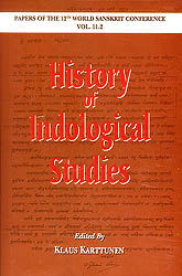 History of Indological Studies