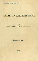 Tribes in Ancient India (An Old and Rare Book)