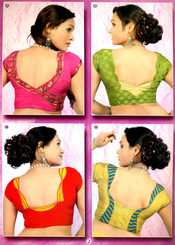 Sawan Blouse Patterns