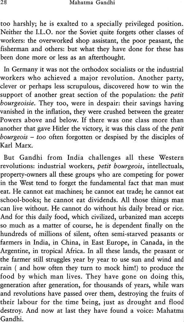 Research paper about gandhi